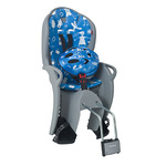 HAMAX KISS SAFETY PACKAGE MEDIUM GREY W/LIGHT BLUE PADDING + HELMET