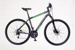 X400 férfi fekete/zöld-szürke