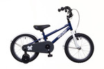 BMX 16 fiú kék/fehér