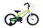 BMX 16 fiú zöld/fehér-kék