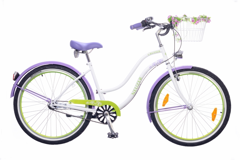 Picnic női fehér/lila-zöld