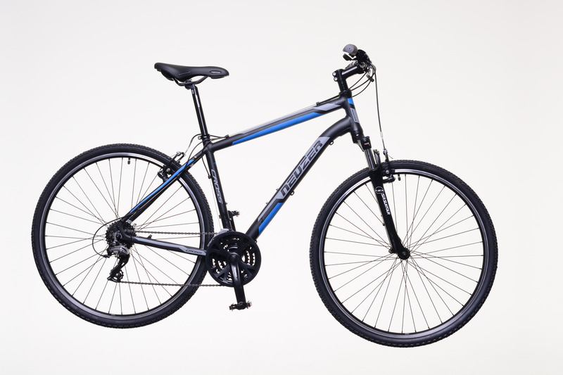 X200 férfi fekete/kék-szürke