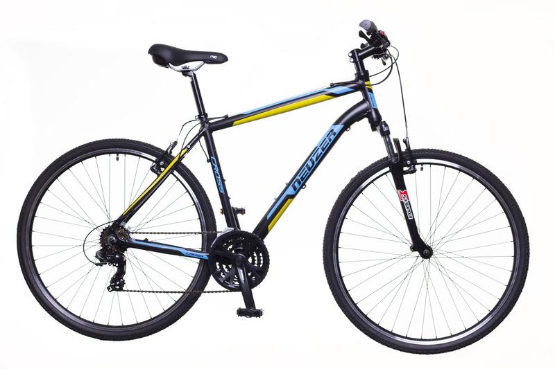 X100 férfi fekete/kék-sárga