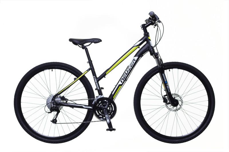 X400 női fekete/fehér-zöld 17
