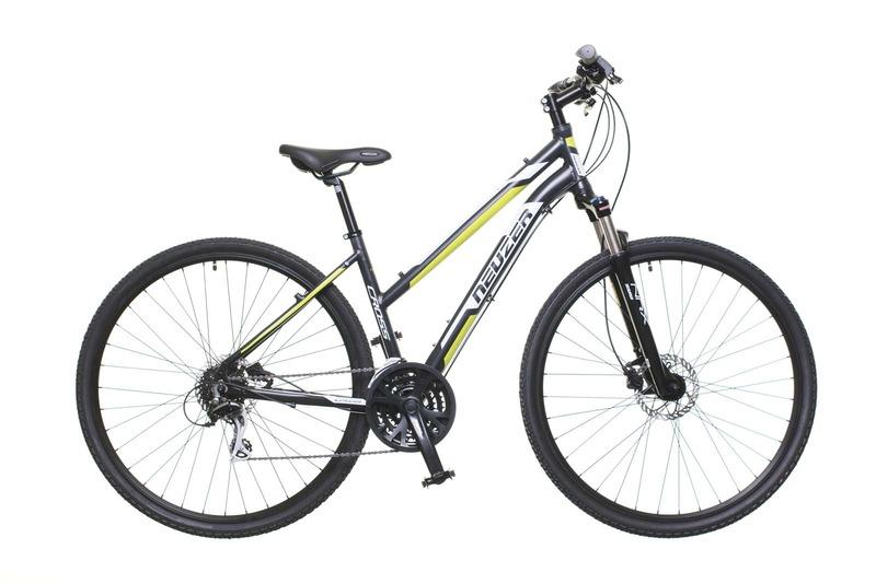 X300 női fekete/fehér-zöld 17