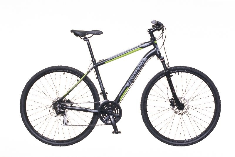 X300 férfi fekete/zöld-szürke