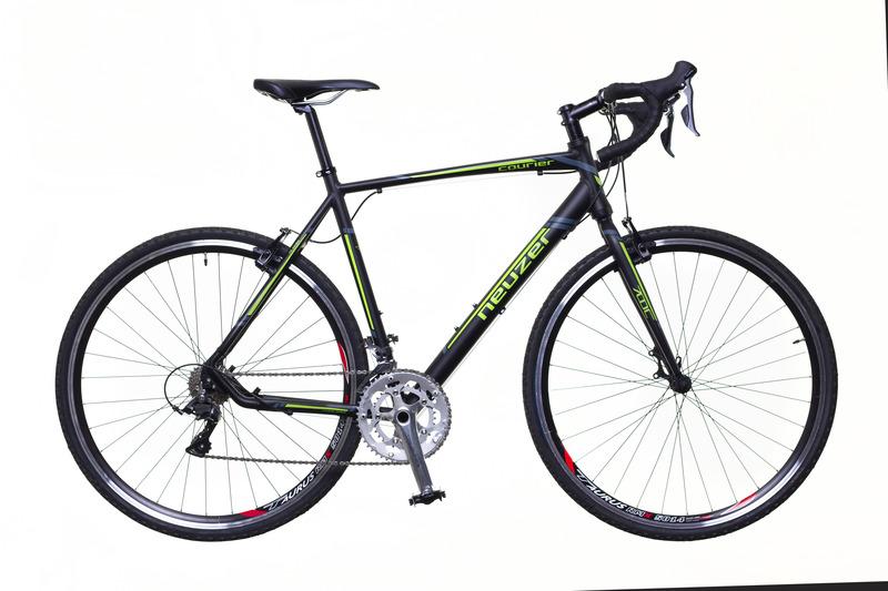 Courier CX fekete/zöld-szürke