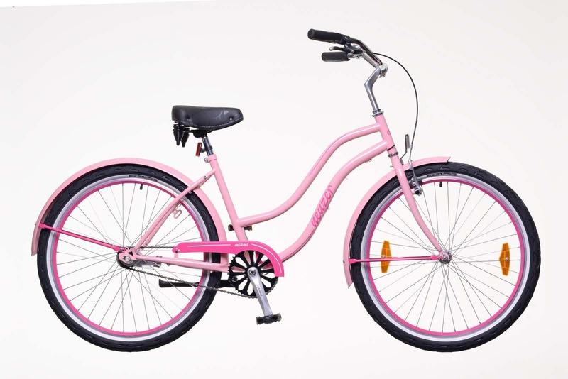 Sunset női rózsaszín/magenta   kerékpár