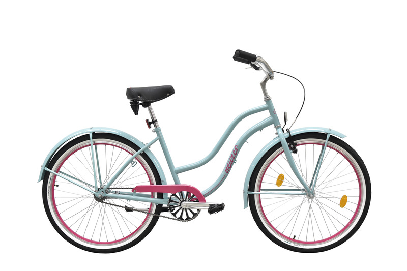 Sunset női celeste/pink   kerékpár