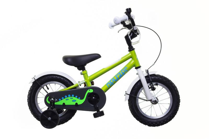 BMX 12 fiú zöld/fehér-kék