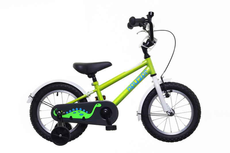 BMX 14 fiú zöld/fehér-kék