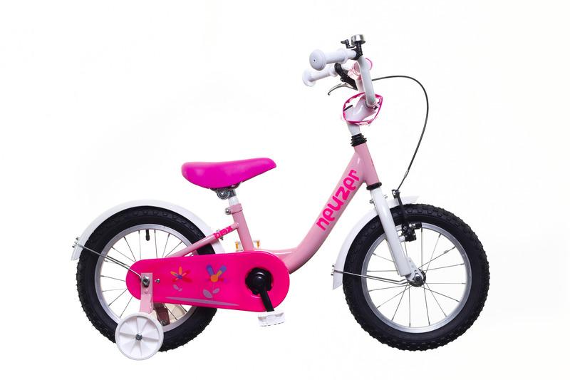 BMX 14 lány pink/fehér-pink