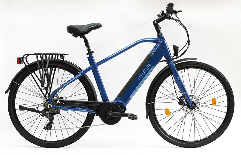 Mantova férfi 20 Bafang középmotoros metálkék  elektromos kerékpár