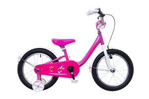 BMX 16 lány rózsaszín/fehér-