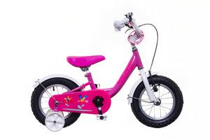 BMX 12 lány pink/fehér-pink